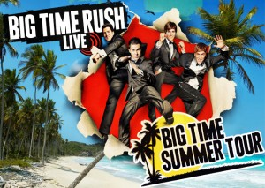 Big Time Rush at the Jiffy Lube Live
