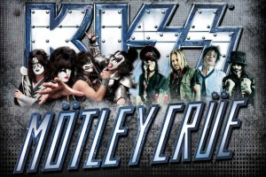 Kiss and Motley Crue at the Jiffy Lube Live