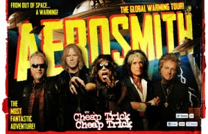 Aerosmith at the Jiffy Lube Live