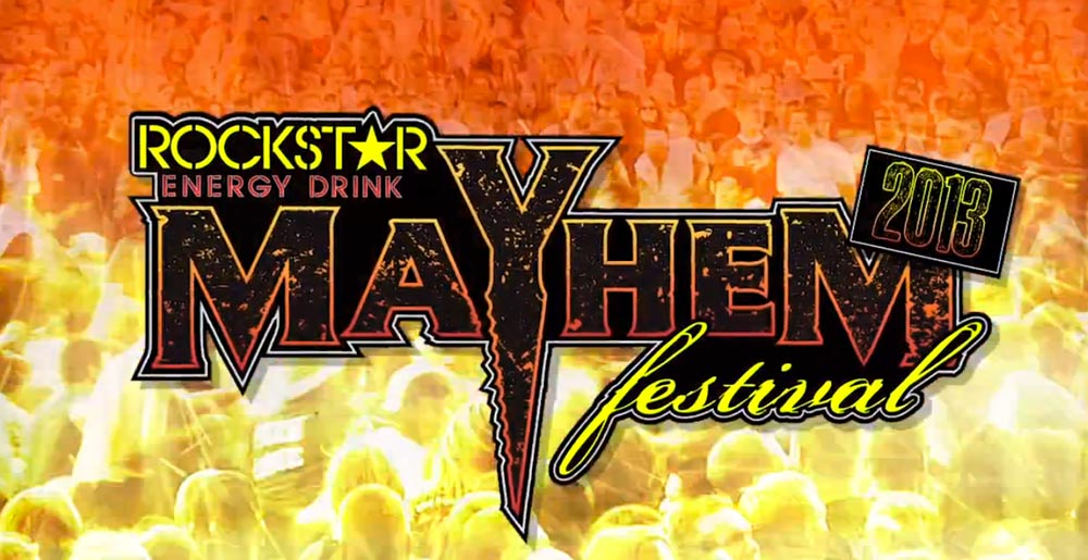 Rockstar Energy Mayhem Festival at the Jiffy Lube Live