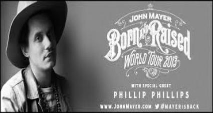 John Mayer Amp Phillip Phillips Jiffy Lube Live At Bristow