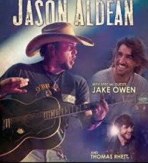 Jason Aldean, Jake Owen & Thomas Rhett