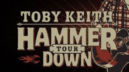 Toby Keith and Kip Moore at the Jiffy Lube Live
