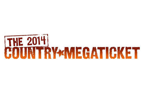 Country Megaticket - 2014 at Jiffy Lube Live