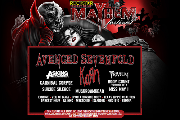Rockstar Energy Mayhem Festival at Jiffy Lube Live