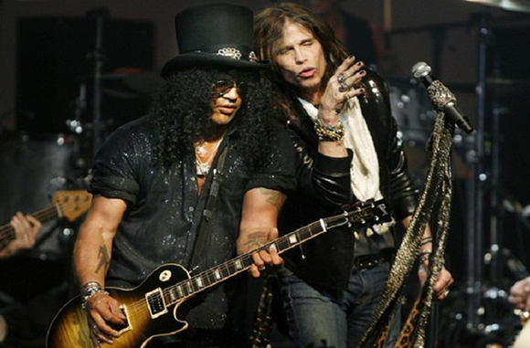 Aerosmith & Slash at Jiffy Lube Live