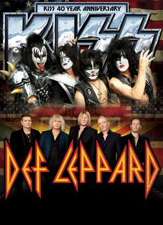 Kiss & Def Leppard at Jiffy Lube Live