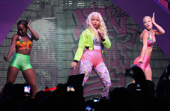 Nicki Minaj, Meek Mill & Rae Sremmurd at Jiffy Lube Live