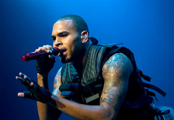 Chris Brown, Kid Ink & Omarion at Jiffy Lube Live