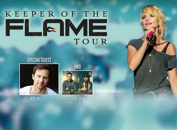 Miranda Lambert, Kip Moore & Brothers Osborne at Jiffy Lube Live
