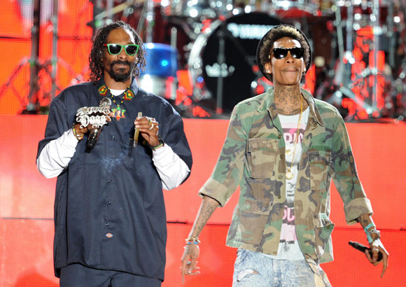 Snoop Dogg, Wiz Khalifa, Kevin Gates & Jhene Aiko at Jiffy Lube Live