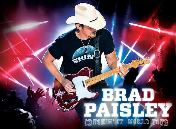 Brad Paisley, Tyler Farr & Maddie and Tae at Jiffy Lube Live