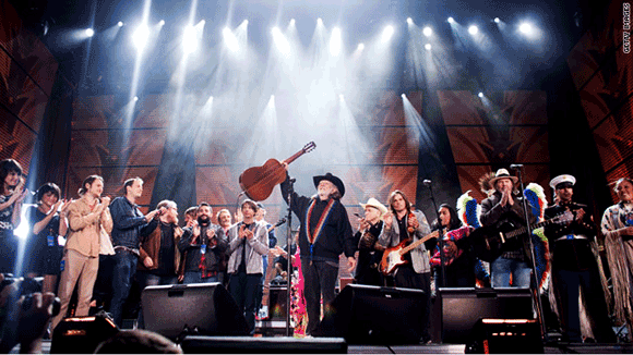Farm Aid: Willie Nelson, Neil Young, Dave Matthews & Tim Reynolds at Jiffy Lube Live