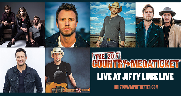 2017 Country Megaticket Tickets (Includes All Performances) at Jiffy Lube Live
