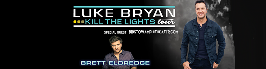 Luke Bryan & Brett Eldredge at Jiffy Lube Live