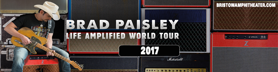 Brad Paisley, Dustin Lynch, Chase Bryant & Lindsay Ell at Jiffy Lube Live