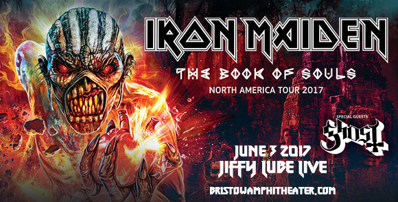 Iron Maiden & Ghost at Jiffy Lube Live