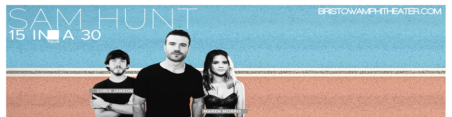 Sam Hunt, Maren Morris & Chris Janson Tickets | 16th ...