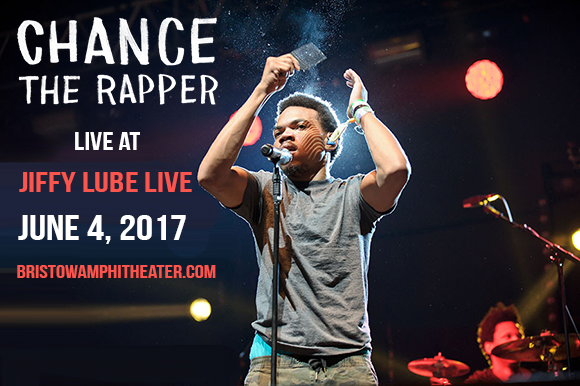 Chance The Rapper at Jiffy Lube Live