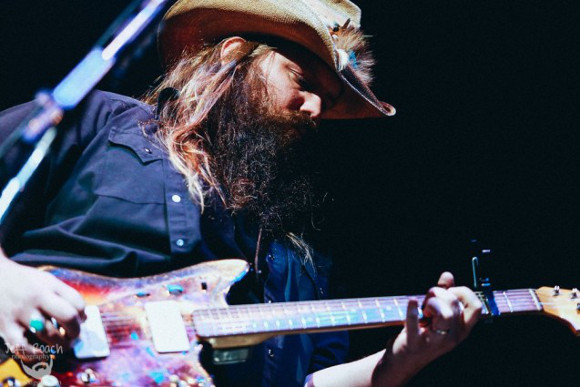 Chris Stapleton, Anderson East & Brent Cobb at Jiffy Lube Live