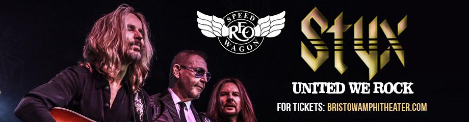 Styx, REO Speedwagon & Don Felder  at Jiffy Lube Live