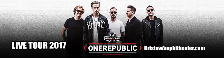 OneRepublic, Fitz and The Tantrums & James Arthur at Jiffy Lube Live