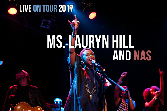 Lauryn Hill & Nas at Jiffy Lube Live