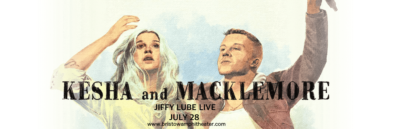 Kesha & Macklemore at Jiffy Lube Live