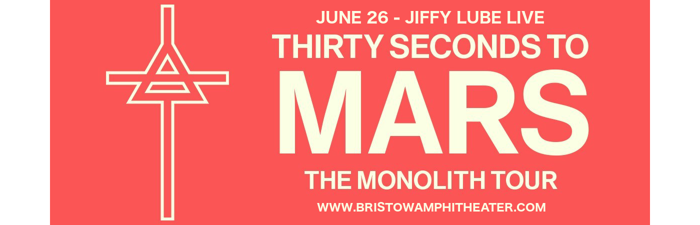 30 Seconds To Mars, Walk The Moon & MisterWives at Jiffy Lube Live