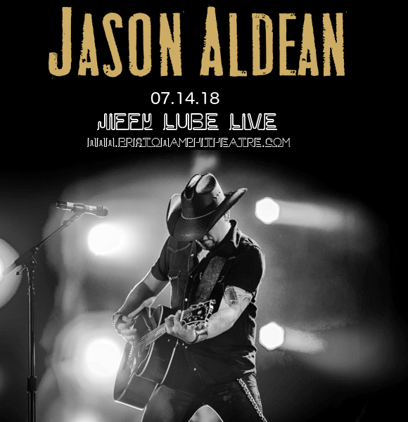 Jason Aldean, Luke Combs & Lauren Alaina at Jiffy Lube Live