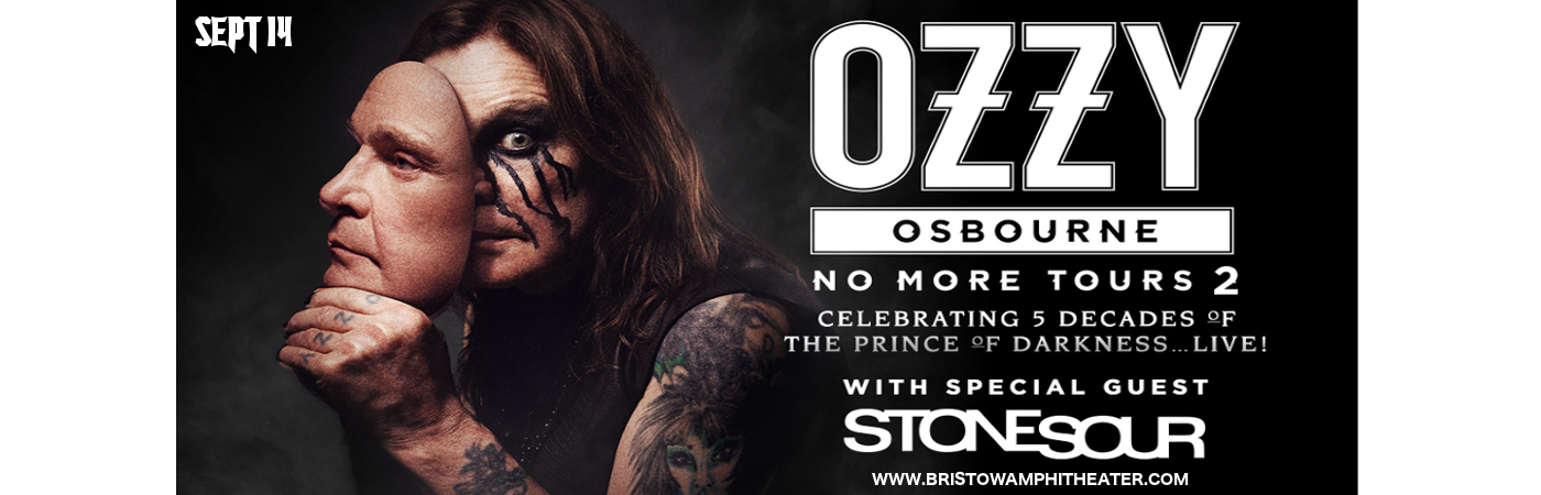 Ozzy Osbourne & Stone Sour at Jiffy Lube Live