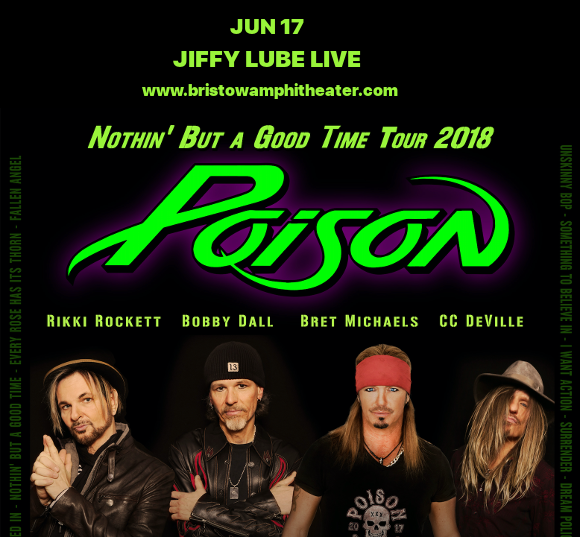 Poison & Cheap Trick at Jiffy Lube Live
