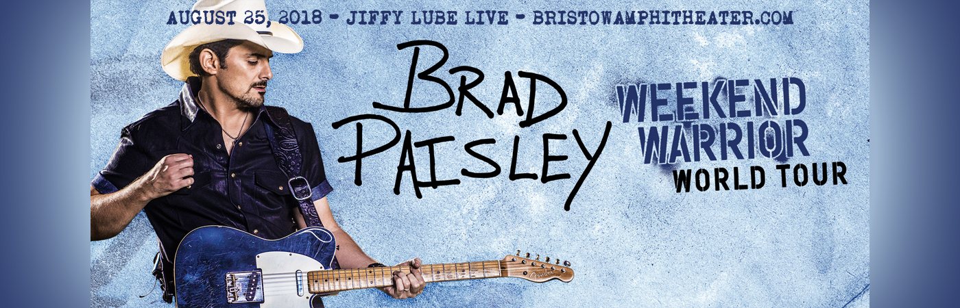 Brad Paisley, Dan Tyminski & Kane Brown at Jiffy Lube Live