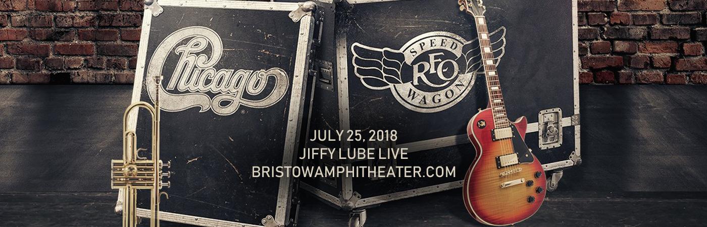 Chicago & REO Speedwagon at Jiffy Lube Live