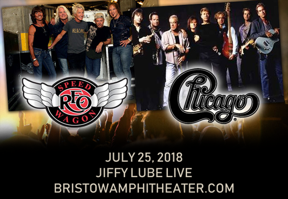 Chicago & REO Speedwagon at Jiffy Lube Live