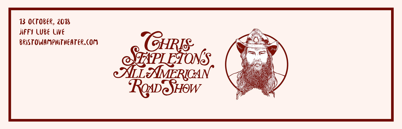 Chris Stapleton, Marty Stuart & Brent Cobb at Jiffy Lube Live