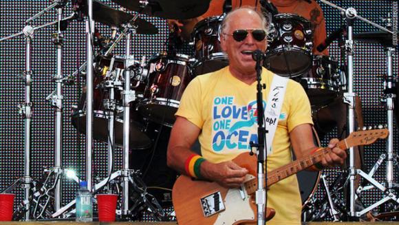 Jimmy Buffett at Jiffy Lube Live