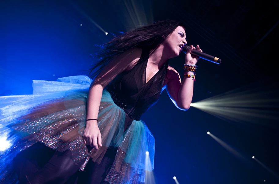 Lindsey Stirling & Evanescence at Jiffy Lube Live