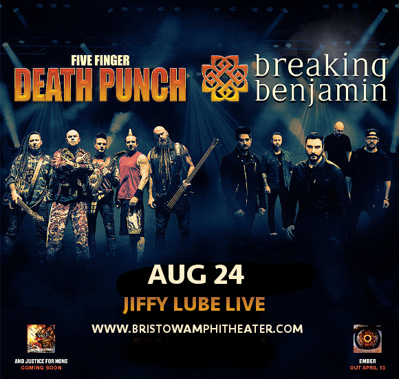 Five Finger Death Punch & Breaking Benjamin at Jiffy Lube Live