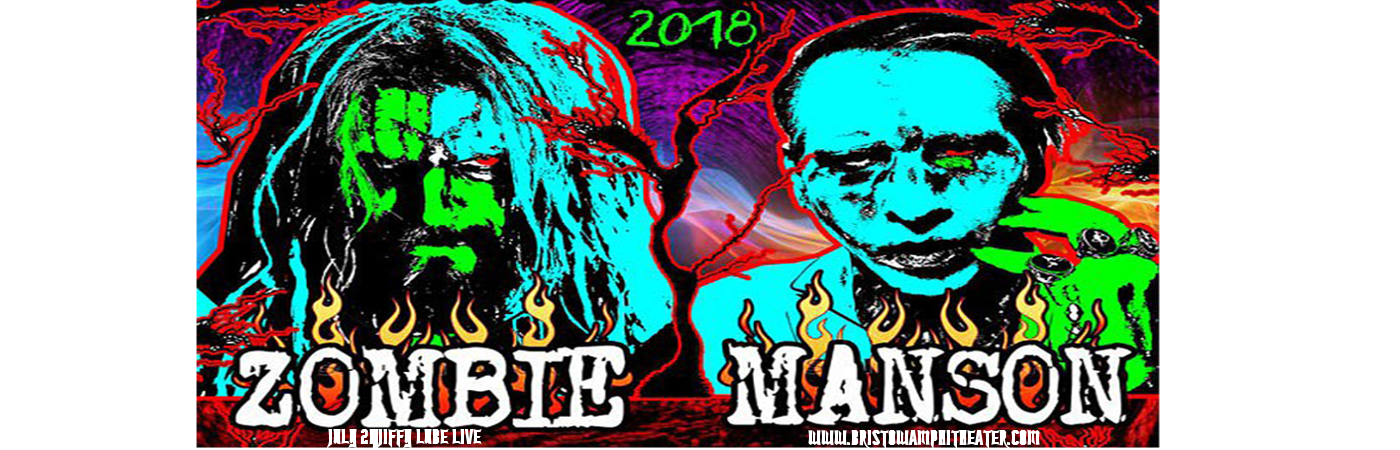 Rob Zombie & Marilyn Manson at Jiffy Lube Live