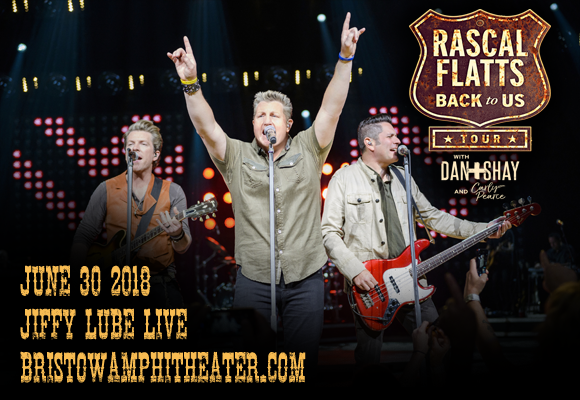 Rascal Flatts, Dan and Shay & Carly Pearce at Jiffy Lube Live