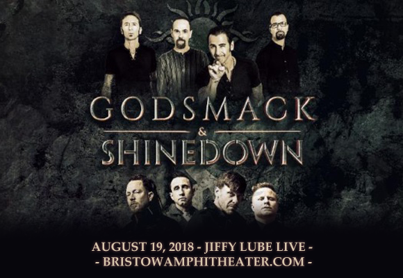 Shinedown & Godsmack at Jiffy Lube Live