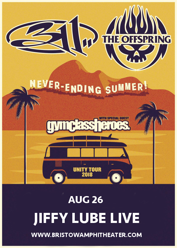 311 & The Offspring at Jiffy Lube Live