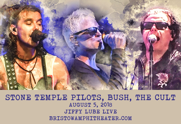 The Cult, Stone Temple Pilots & Bush at Jiffy Lube Live