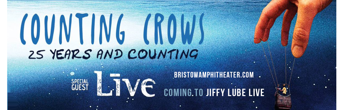Counting Crows & Live - Band at Jiffy Lube Live