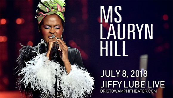 Lauryn Hill at Jiffy Lube Live
