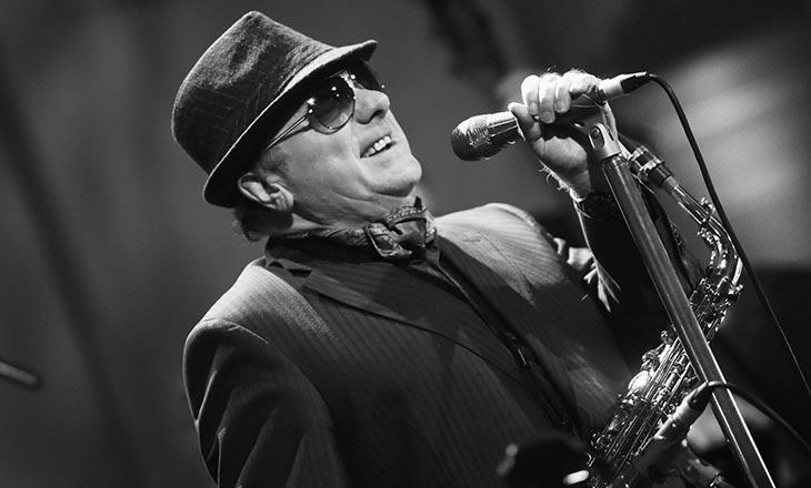Van Morrison at Jiffy Lube Live
