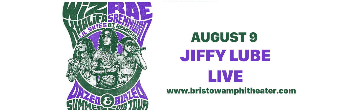 Wiz Khalifa & Rae Sremmurd at Jiffy Lube Live