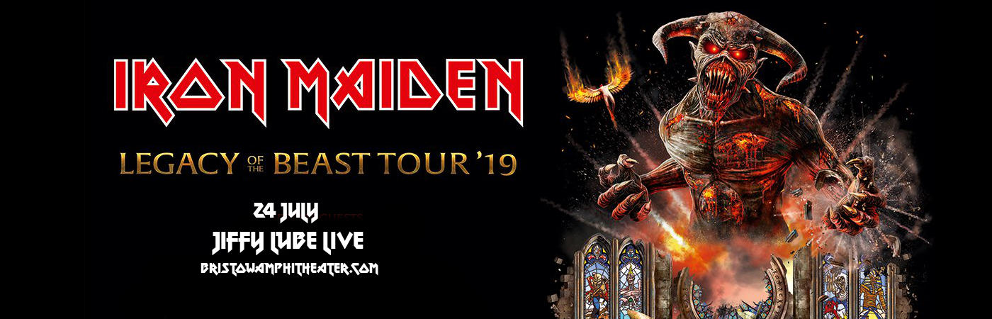 Iron Maiden at Jiffy Lube Live