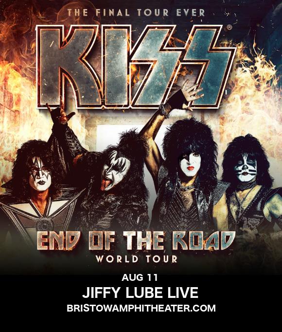 Kiss at Jiffy Lube Live